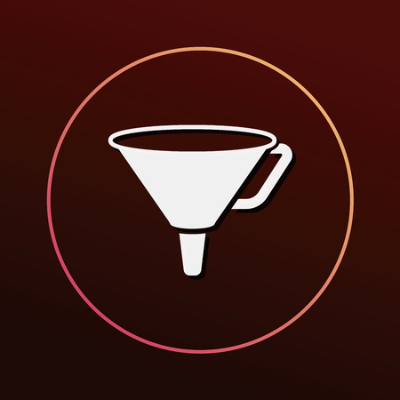 filtering: Funnel icon