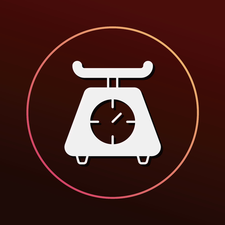 weighing machine: Weighing machine icon