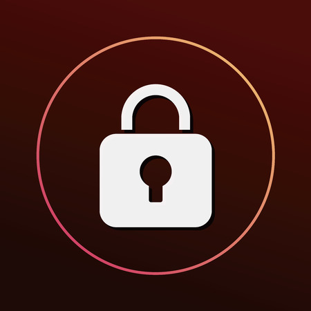secured: lock icon