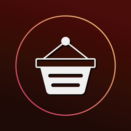 shopping cart icon: web shopping cart icon