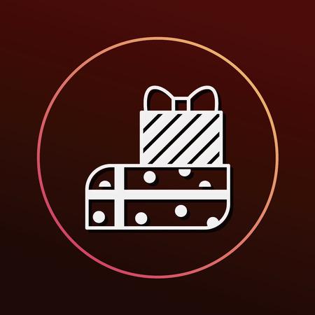 birthday present: birthday present icon