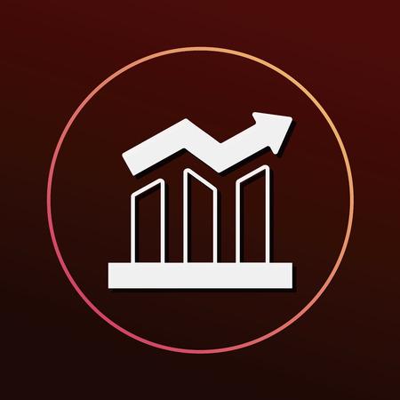 stock: financial stock icon Illustration