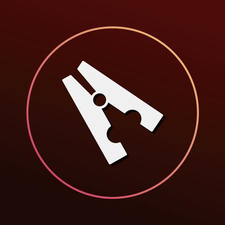 clothespin: Clothespin icon