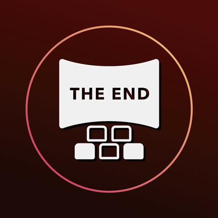 cinema screen: cinema screen icon