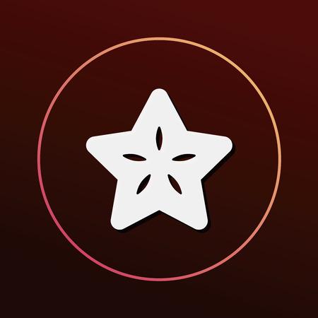 star: star fruits icon
