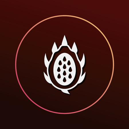 dragon fruits icon