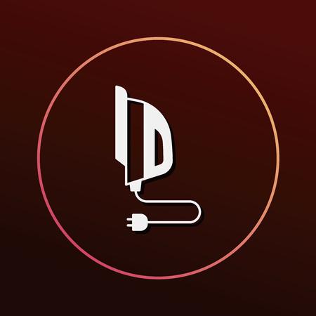 smoothing: iron icon