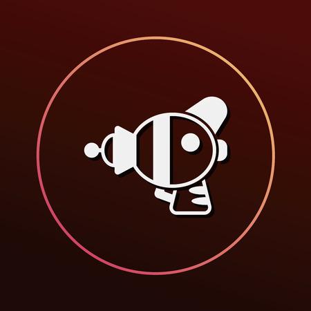 ray gun: Space Gun icon
