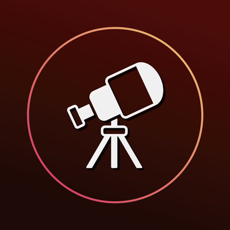 learning icon: Space Telescope icon