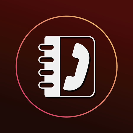 phone icon: contact phone icon