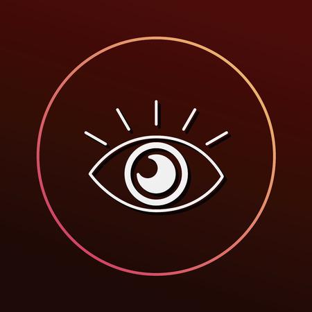 auto focus: camera night mode icon