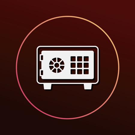 safety deposit box: Safety Deposit Box icon