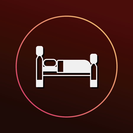 double bed: bed icon