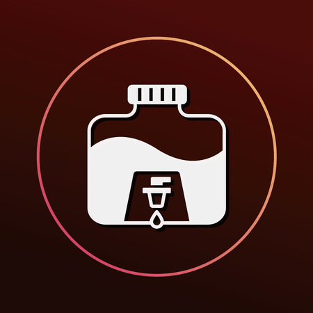 mineral water: Mineral water icon
