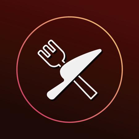tableware: tableware icon Illustration