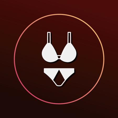 undies: underwear icon Illustration