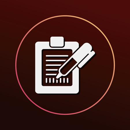 receipt: Receipt icon Illustration