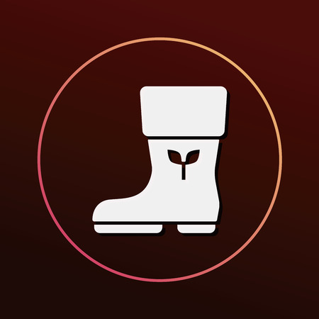 safety shoes: Rain boots icon
