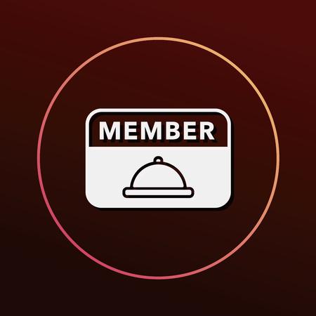 card: member card