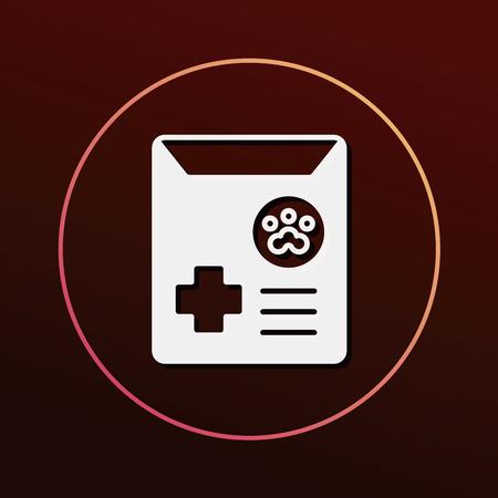 drug test: pet drug icon