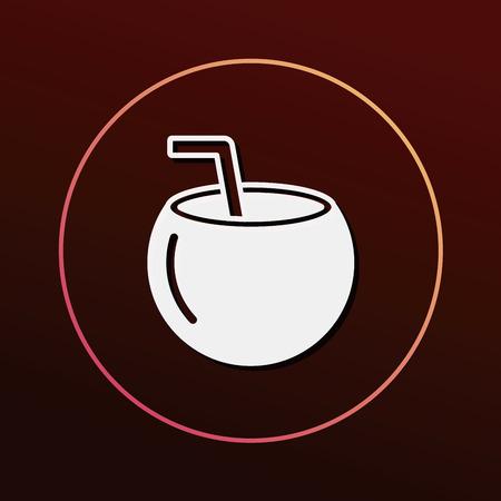 coconut drink: coconut drink icon
