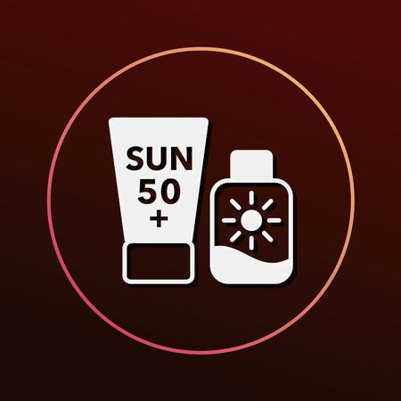 moisturizer: sunscreen icon