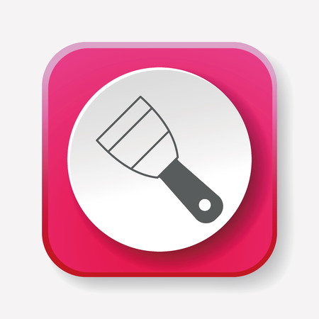 shovel: shovel icon Illustration