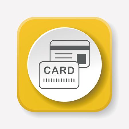 card: credit card icon