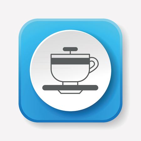 amusement: amusement park coffee-cup icon