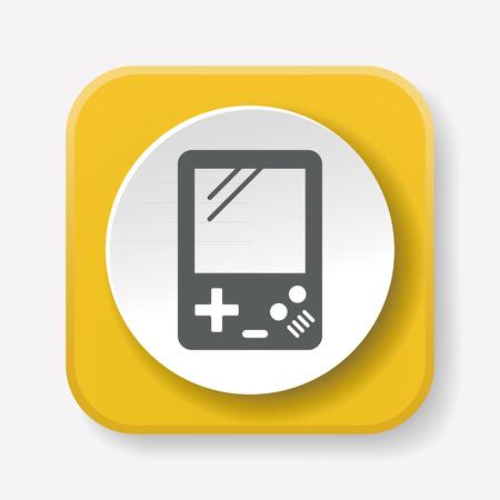 handheld device: Handheld game consoles icon