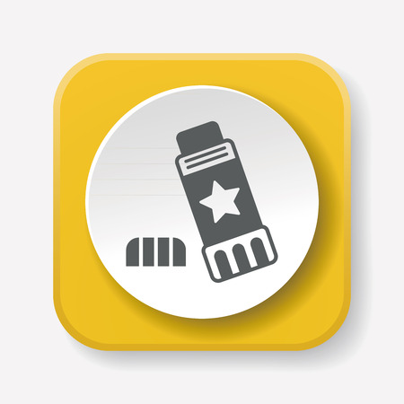 office product: glue icon