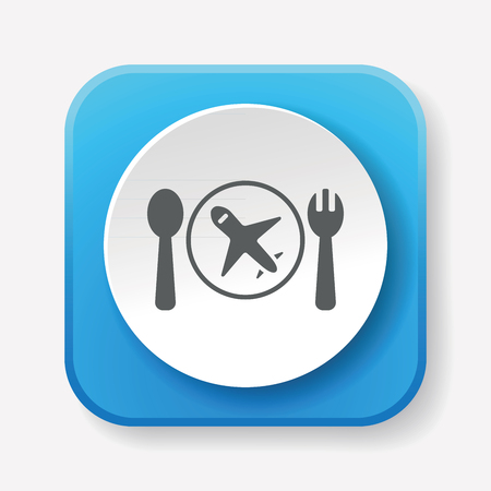 tableware: tableware icon Illustration