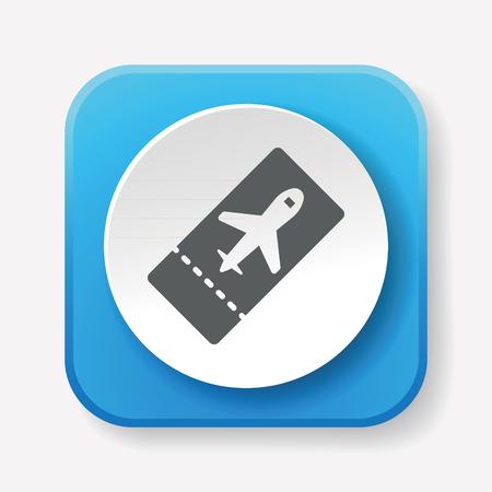 e ticket: e-ticket icon