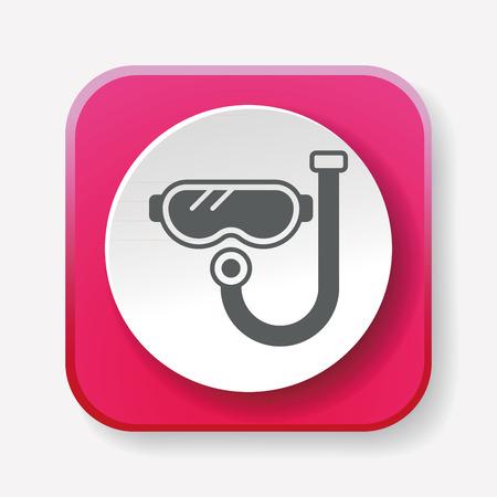 swim goggles: Goggles icon