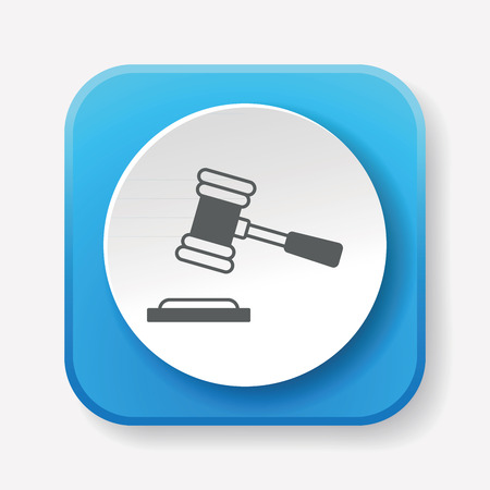 auction gavel: gavel icon