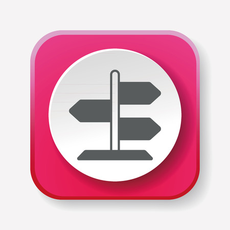 roadsign: roadsign icon