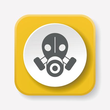 army gas mask: Gas masks icon