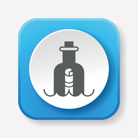 message in a bottle: Message in a Bottle icon