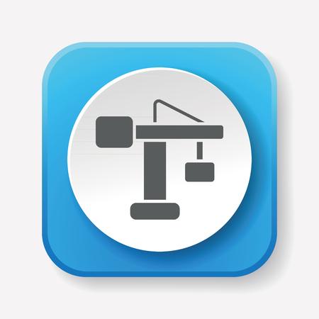 hoist: Crane icon