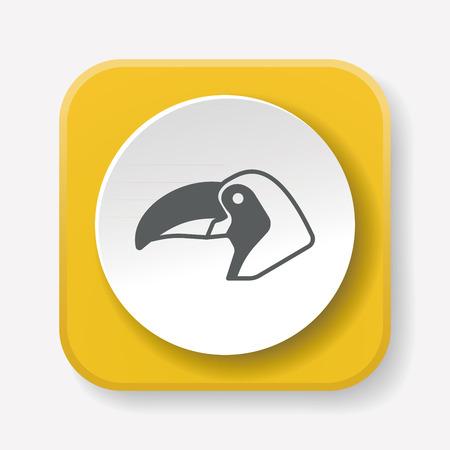 toucan: animal Toucan icon
