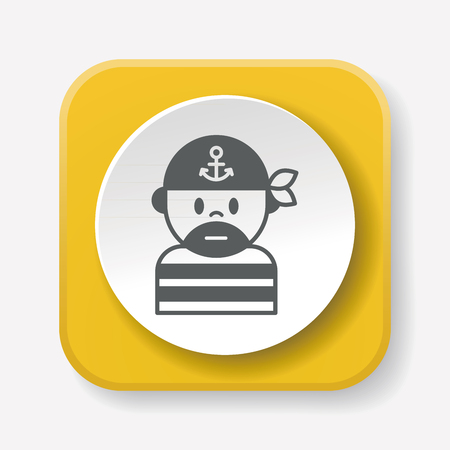 white patches: pirate icon