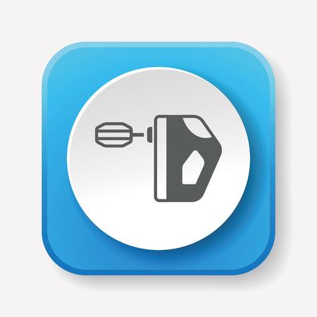 beater: icono batidor de cocina
