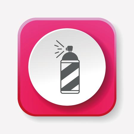 paint spray gun: Spray painting icon