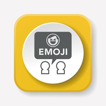 smily: emoji icon Illustration