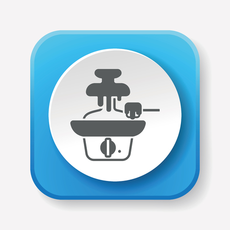 caterer: chocolate fountain icon