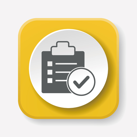 product icon: list icon Illustration