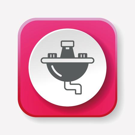 wash basin: Sink icon