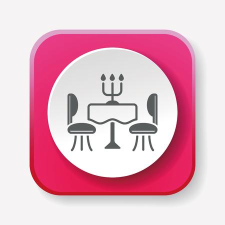 souper table icône