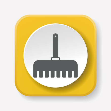 hand shovels: gardening shovel icon