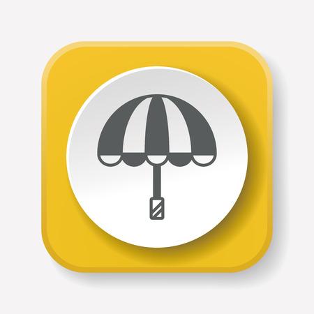 fall protection: umbrella icon